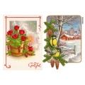 Рисовая бумага для декупажа Новогодние открытки, А4 АртДекупаж Россия