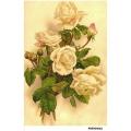 Рисовая бумага для декупажа Желтые розы формат А5, АртДекупаж Россия