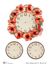Декупажная карта А3 Antiques clock 13, Base of Art (Россия)