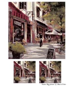 Декупажная карта А4 Big picture 15, Base of Art