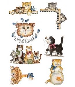 Декупажная карта А4 Cat, Base of Art