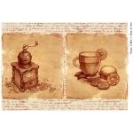 Декупажная карта А4 Coffee 7, Base of Art new (Россия)