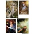 Декупажная карта А3 Fantasy 4, Base of Art new (Россия)