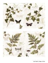 Декупажная карта А4 Herb 5, Base of Art