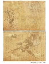 Декупажная карта А4 Old Paper 3, Base of Art