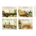Декупажная карта А3 Postage Stamp 2, Base of Art new (Россия)