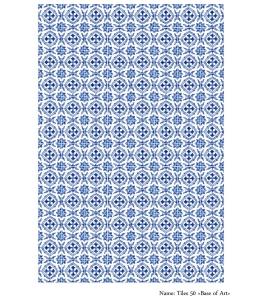 Декупажная карта А3 Tiles 50, Base of Art (Россия)