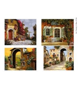 Декупажная карта А4 Tuscany 3, Base of Art