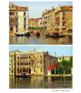 Декупажная карта А4 Venice, Base of Art