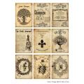 Декупажная карта А4 Vintage Label 8, Base of Art new (Россия)