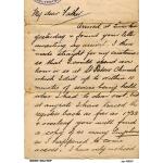 Рисовая бумага для декупажа 160287 Старое письмо, А4, Бижу-Мастер, Россия