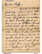Рисовая бумага для декупажа 160287 Старое письмо, А4, Россия