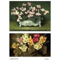 Рисовая бумага для декупажа 160495 Цветы, А4, Бижу-Мастер, Россия