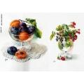 Рисовая бумага для декупажа Натюрморты из фруктов и ягод, А4, Бижу-Мастер, Россия