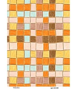 Рисовая бумага для декупажа Плетенка, А4,  Россия