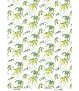 Рисовая бумага для декупажа Листья, А4,  Россия