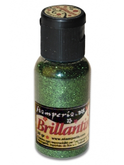 Микроблестки, цвет №13 темно-зеленый, Stamperia, 20гр