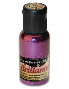 Микроблёстки, цвет №24 розовая фуксия, Stamperia (Италия), 20гр