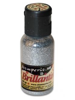 Микроблестки, цвет №29 серебро, Stamperia, 20гр