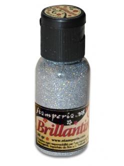 Микроблестки, цвет №30 мерцающее серебро, Stamperia, 20гр
