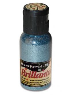 Микроблестки, цвет №32 голубой, Stamperia, 20гр