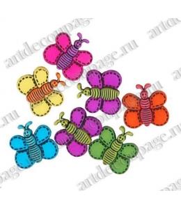 """Декоративные пуговицы """"Разноцветные пчёлки"""", серия Favorite Findings, Button Fashion"""
