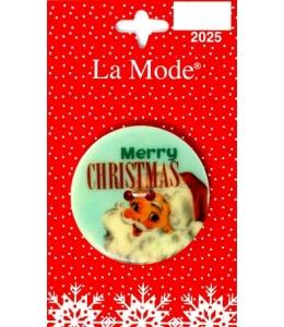 "Декоративная пуговица ""Merry Christmas 2"" серия La Mode Christmas, Blumenthal Lansing"