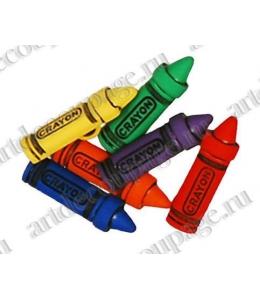 """Декоративные пуговицы """"Разноцветные тюбики с краской"""", серия Favorite Findings, Button Fashion"""