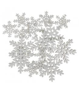 "Декоративные элементы ""Снежинки белые"", пластик, Blumenthal Lansing"