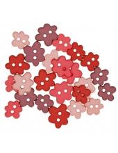 """Декоративные пуговицы """"Весенние цветы, матовые"""", серия Favorite Findings, Button Fashion"""