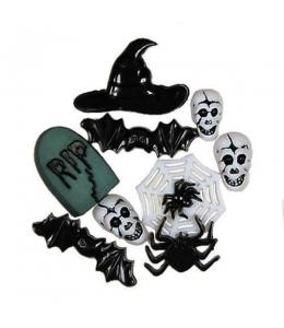 "Декоративные пуговицы ""Хэллоуин"", серия Favorite Findings, Button Fashion"