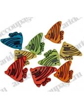 """Декоративные пуговицы """"Разноцветные рыбки"""", серия Favorite Findings, Blumenthal Lansing"""
