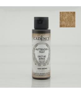 Краска акриловая для состаривания Antiquing Colors, темно-коричневый 70мл, Cadence