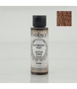 Краска акриловая для состаривания Antiquing Colors, цвет коричневый 70мл, Cadence