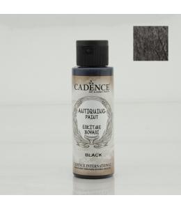 Краска акриловая для состаривания Antiquing Colors, цвет черный 70мл, Cadence