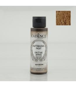 Краска акриловая для состаривания Antiquing Colors, цвет темный красно-коричневый 70мл, Cadence