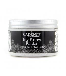 Паста с эффектом снега ICY SNOW PAST, 150мл, Cadence