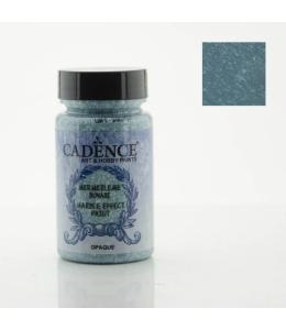 Краска с эффектом мрамора Marble Effect 013 бирюзовый, 90мл, Cadence