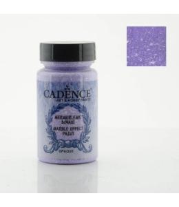 Краска с эффектом мрамора Marble Effect 047 фиолетовый, 90мл, Cadence