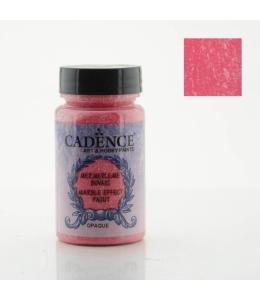Краска с эффектом мрамора Marble Effect 082 красный, 90мл, Cadence
