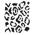 "Трафарет ""Леопард"", 15х20 см, Cadence"