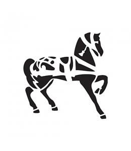 """Трафарет """"Лошадь"""", 15х20 см, Cadence"""