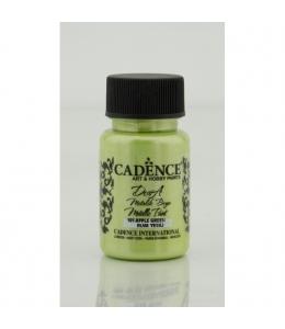 Краска Dora Metallic Paint  зеленое яблоко, 50 мл, Cadence