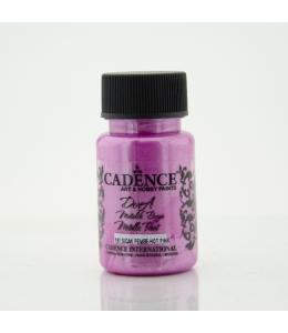 Краска Dora Metallic Paint ярко-розовый, 50 мл, Cadence