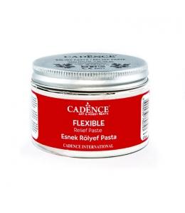 Рельеф-паста Flexible эластичная белая для молдов, 150 мл, Cadence (Турция)