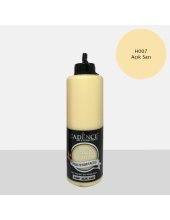 Гибридная акриловая краска Hybrid Acrylic 07 светлый желтый, 500 мл, Cadence