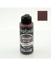 Гибридная акриловая краска Hybrid Acrylic 17 шоколад, 70 мл, Cadence