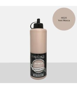 Гибридная акриловая краска Hybrid Acrylic 20 мокка, 500 мл, Cadence