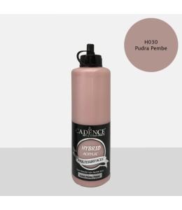 Гибридная акриловая краска Hybrid Acrylic 30 пудровый розовый, 500 мл, Cadence