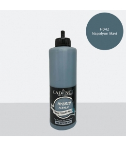 Гибридная акриловая краска Hybrid Acrylic 42 наполеоновский синий, 500 мл, Cadence